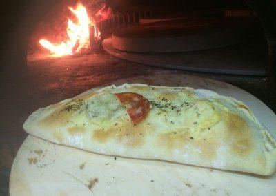 Pizza Calzone Chorizo