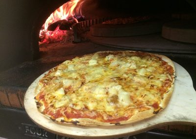 Pizza Poulet Ananas