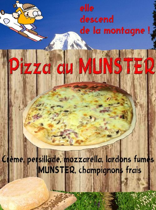Pizza au Munster