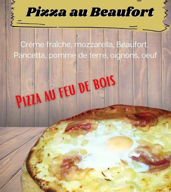 Pizza au BEAUFORT